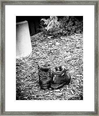 Left Behind Framed Print by Fred Lassmann