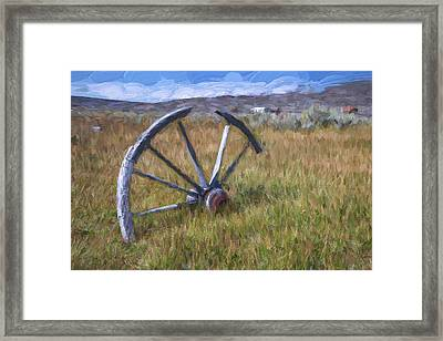 Left Behind II Framed Print