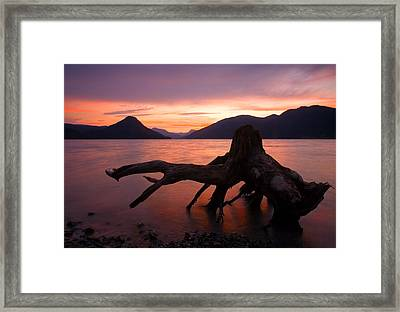 Left Behind Framed Print by Mike  Dawson