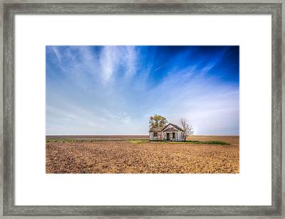Left Behind Framed Print by Spencer McDonald