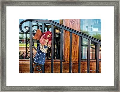 Left Hanging Framed Print