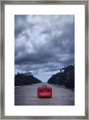 Left Luggage Framed Print by Joana Kruse
