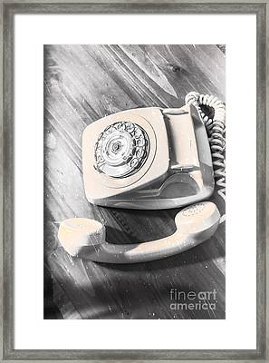 Left Off The Hook Framed Print by Jorgo Photography - Wall Art Gallery