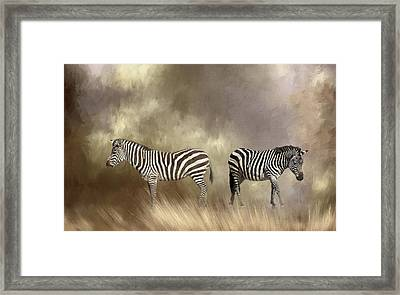 Framed Print featuring the photograph Left Or Right by Donna Kennedy