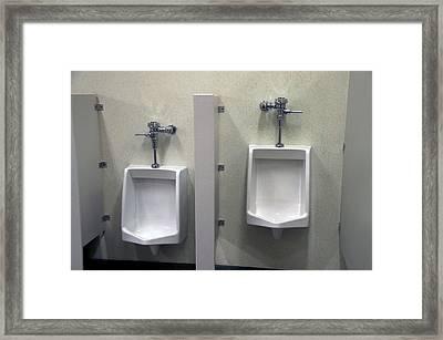 Left Or Right Hand Flush Framed Print