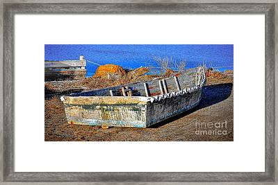 Left There  Framed Print