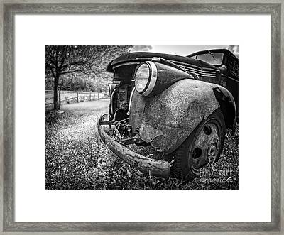 Left To Rot Framed Print by Edward Fielding
