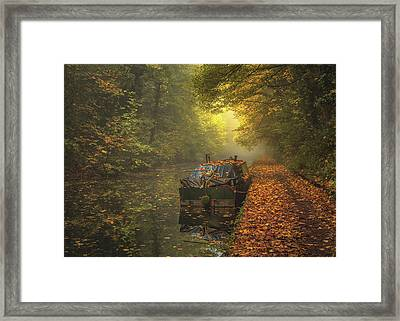 Left To The Elements Framed Print by Chris Fletcher