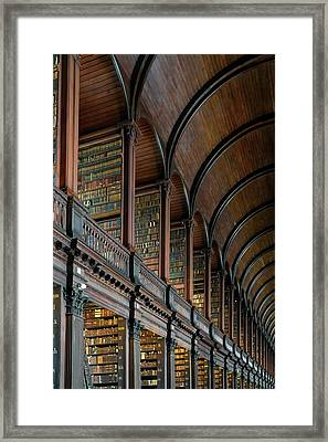 Left Wing Of The Long Room Framed Print