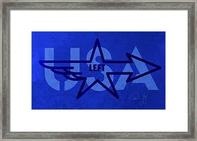 Left Wing Framed Print by Paul Gaj