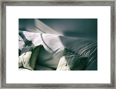 Framed Print featuring the photograph Leftover Light by Steven Huszar