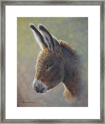 Lefty Framed Print by Kim Lockman