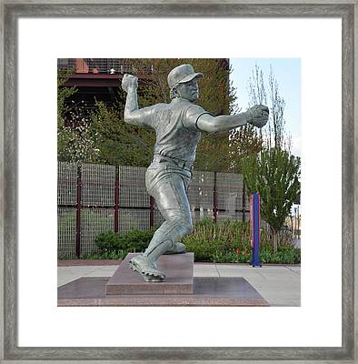 Lefty - Phillie Steve Carlton Framed Print