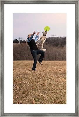 Leg Vault  Framed Print by Patricia Olson