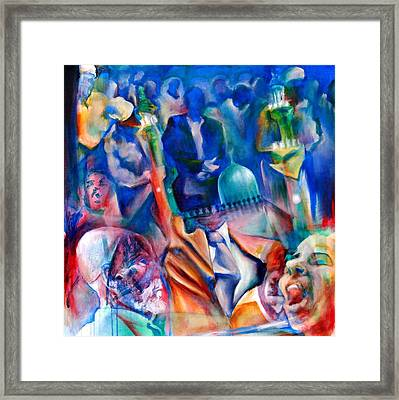 Legacies Of Resistance Framed Print by Khalid Hussein