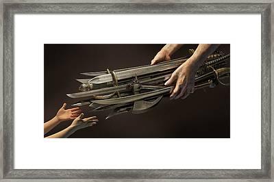 Legacy Framed Print by Vitaliy Gladkiy
