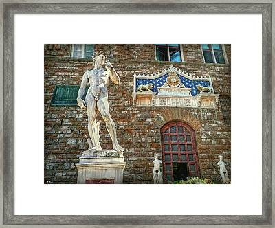 Framed Print featuring the photograph Legal Nudity by Hanny Heim