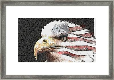 Legally Unlimited Eagle Framed Print
