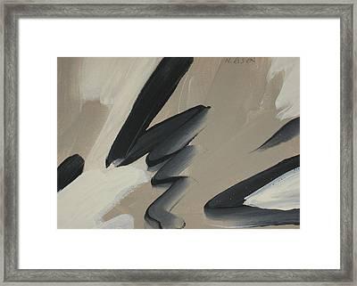 Legato Framed Print