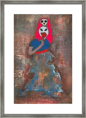 Legend Of Leigh Bowery Framed Print by Ricky Sencion
