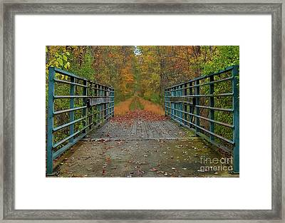 Legend Of The Hookerman Framed Print by Robert Pilkington