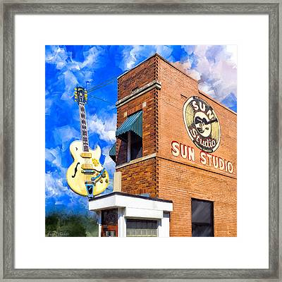 Legendary Home Of Rock N Roll Framed Print by Mark Tisdale