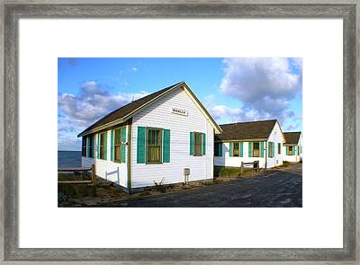 Legendary Provincetown Cottages Framed Print
