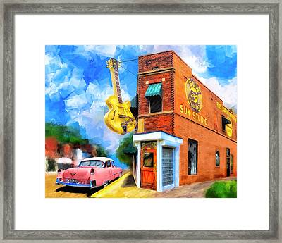 Legendary Sun Studio Framed Print by Mark Tisdale