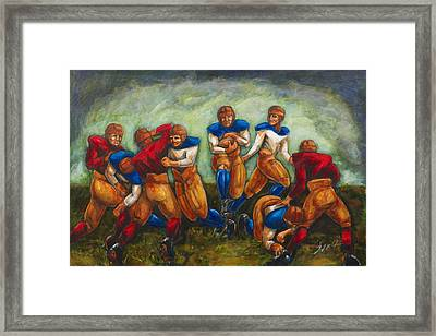 Legends Framed Print by Daryl Price