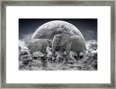 Legends Live On Framed Print