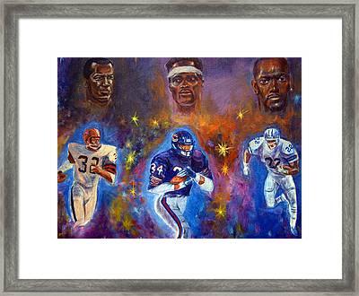 Legends Framed Print by Tommy  Winn
