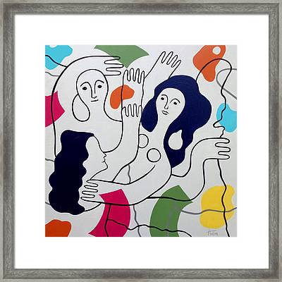 Leger Light And Loose Framed Print