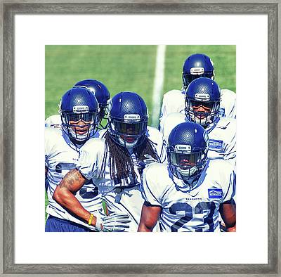 Legion Of Boom Framed Print