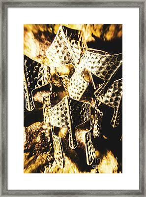 Legion Of History Framed Print