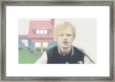 Lego House Framed Print by Tilly Williams