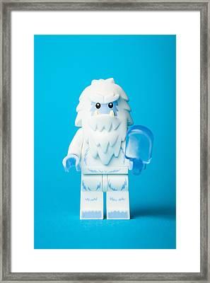 Lego Yeti Framed Print