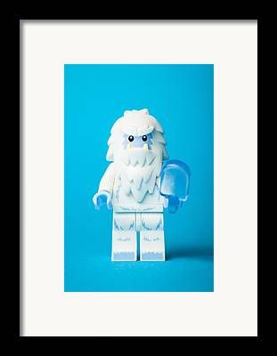 Abominable Snowman Framed Prints