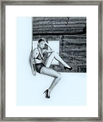 Legs IIi Framed Print by Gregory Worsham