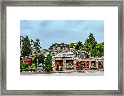 Legs Inn Of Cross Village Framed Print by Bill Gallagher
