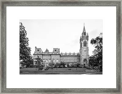 Lehigh University Center Framed Print