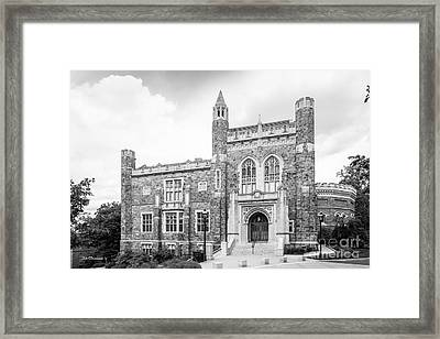 Lehigh University Linderman Library Framed Print