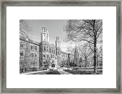 Lehigh University Packard Laboratory Framed Print by University Icons