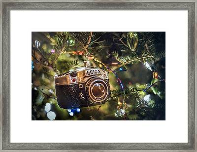 Leica Christmas Framed Print by Scott Norris