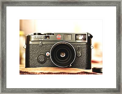 Leica M6  Framed Print by Hsin Liu