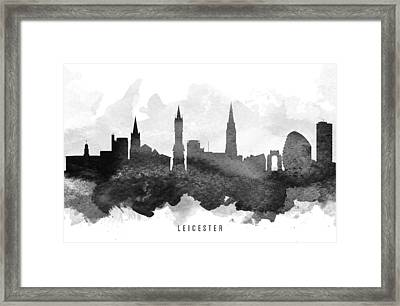Leicester Cityscape 11 Framed Print