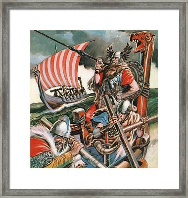 Leif Ericsson, The Viking Who Found America Framed Print