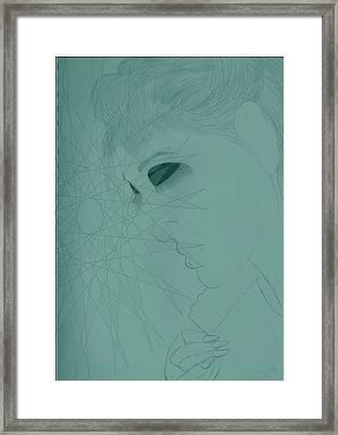 Leighton M Framed Print by Neylis Dukes