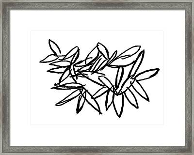 Leipzig Leaves Framed Print by Dick Sauer
