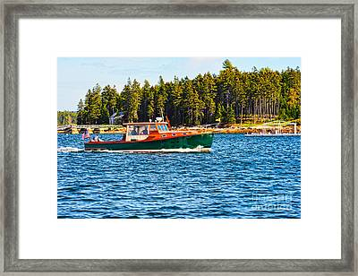 Framed Print featuring the photograph Leisure Time by Anthony Baatz