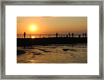Leisure Weekend Framed Print by Frozen in Time Fine Art Photography